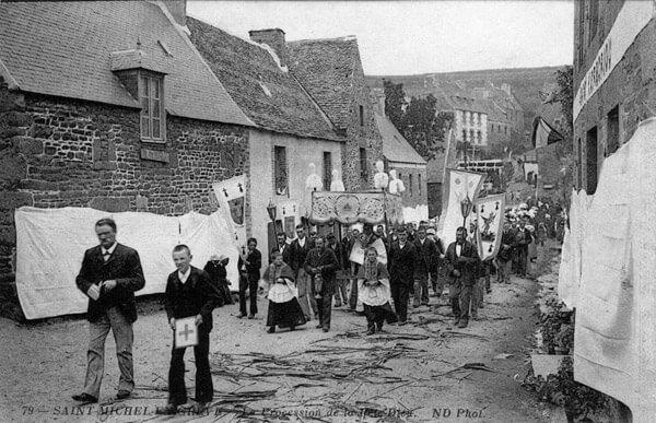 Une procession