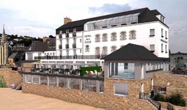 Projet Hotel de la plage