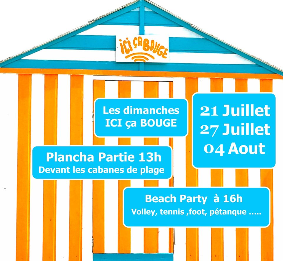 Animations sur la plage