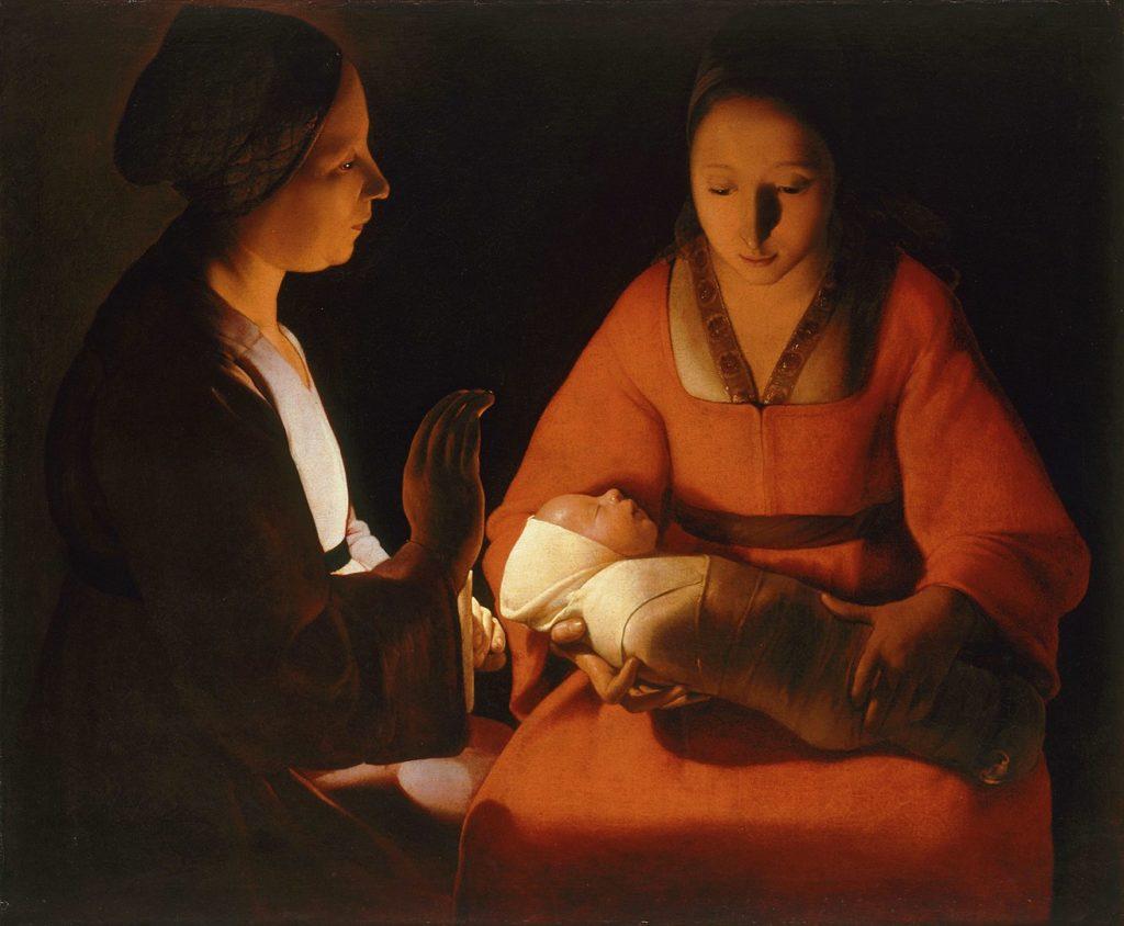 The New-born.*oil on canvas.*76 × 91 cm.*1600-1652
