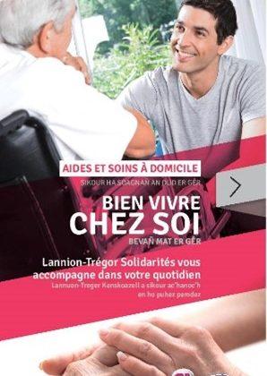 Les services de Lannion Trégor Solidarités sur le pôle de Plestin les Grèves.
